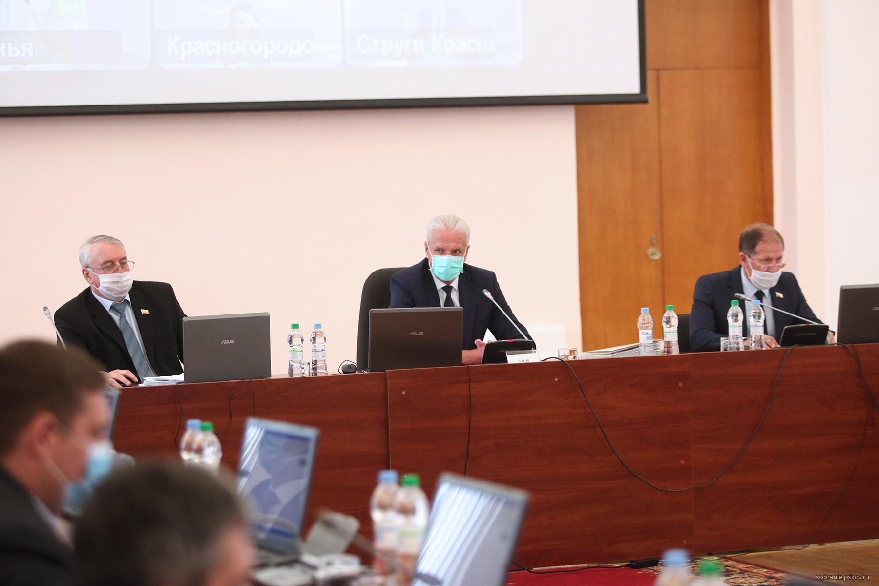 Фото: Псковское областное Собрание депутатов