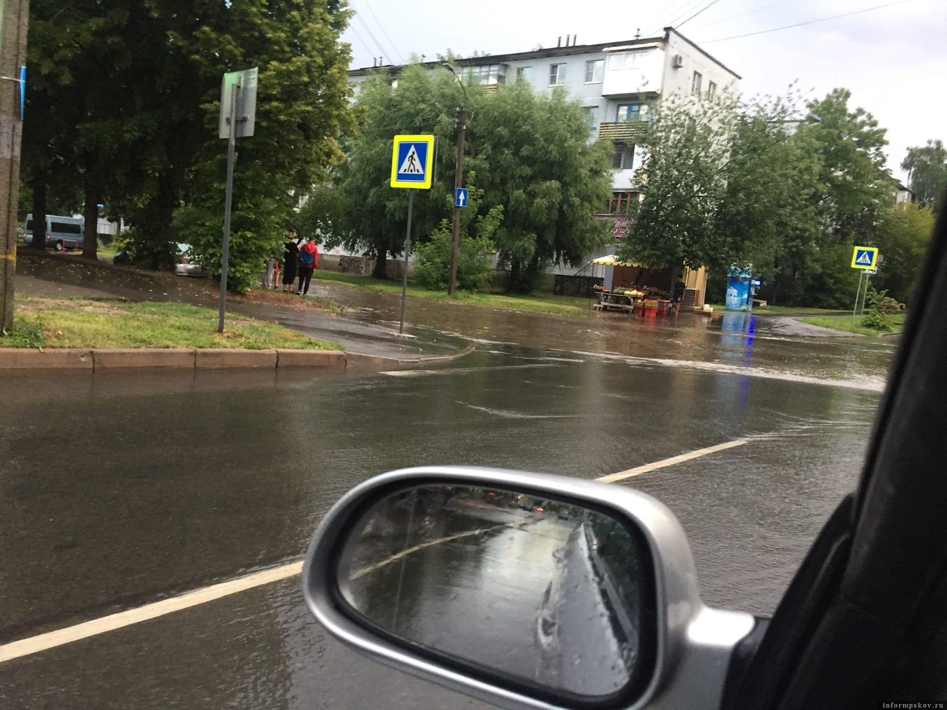 Фото Сергея Кушакова в группе «Инцидент Псков» в социальной сети «ВКонтакте»