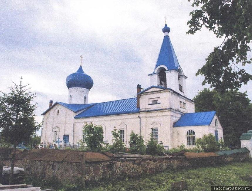 Церковь Михаила Архангела в деревне Кобылье Городище Гдовского района. Фото из конкурсной документации