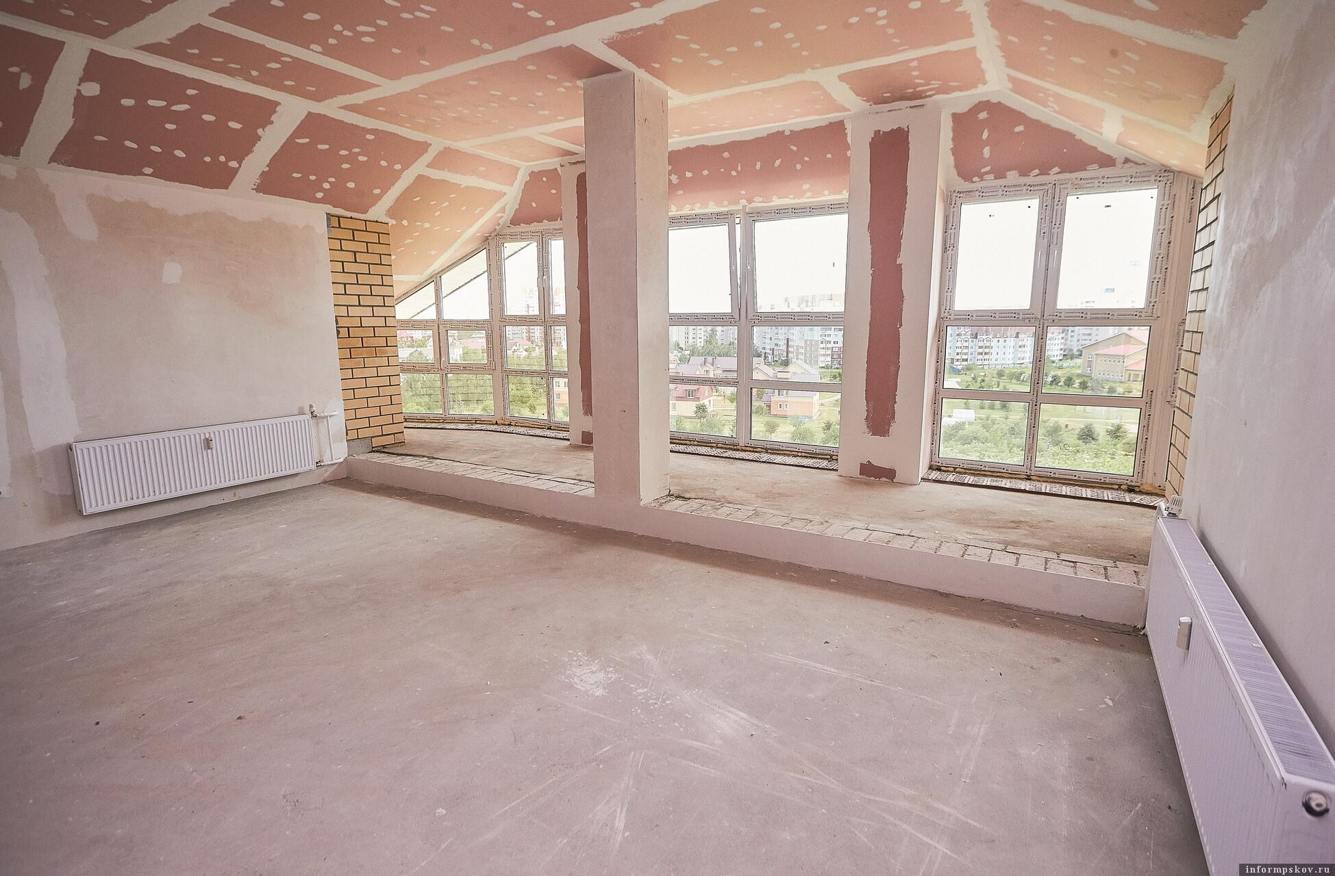 Строительство квартиры с мансардой.