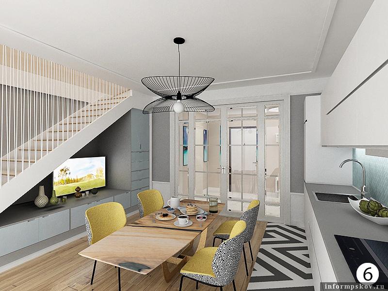 Дизайн квартир. Стиль минимализм. Проект Ирины Кросс.