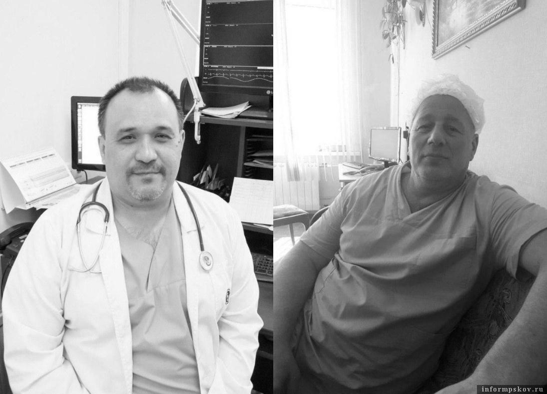 Анвар Сабиров и Алексей Поднебесный