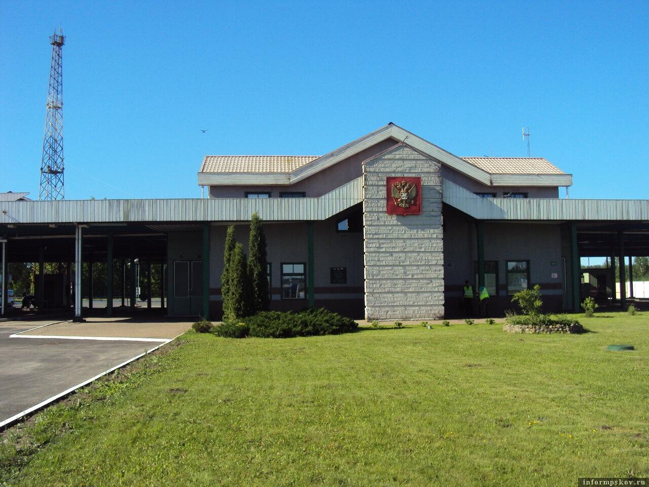 Автомобильный пункт пропуска Убылинка в Псковской области. Фото yandex.ru