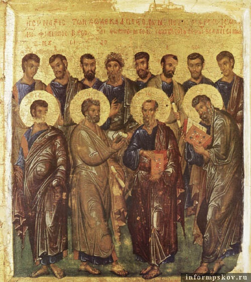 Византийская икона XIV века. Фото: pravmir.ru.