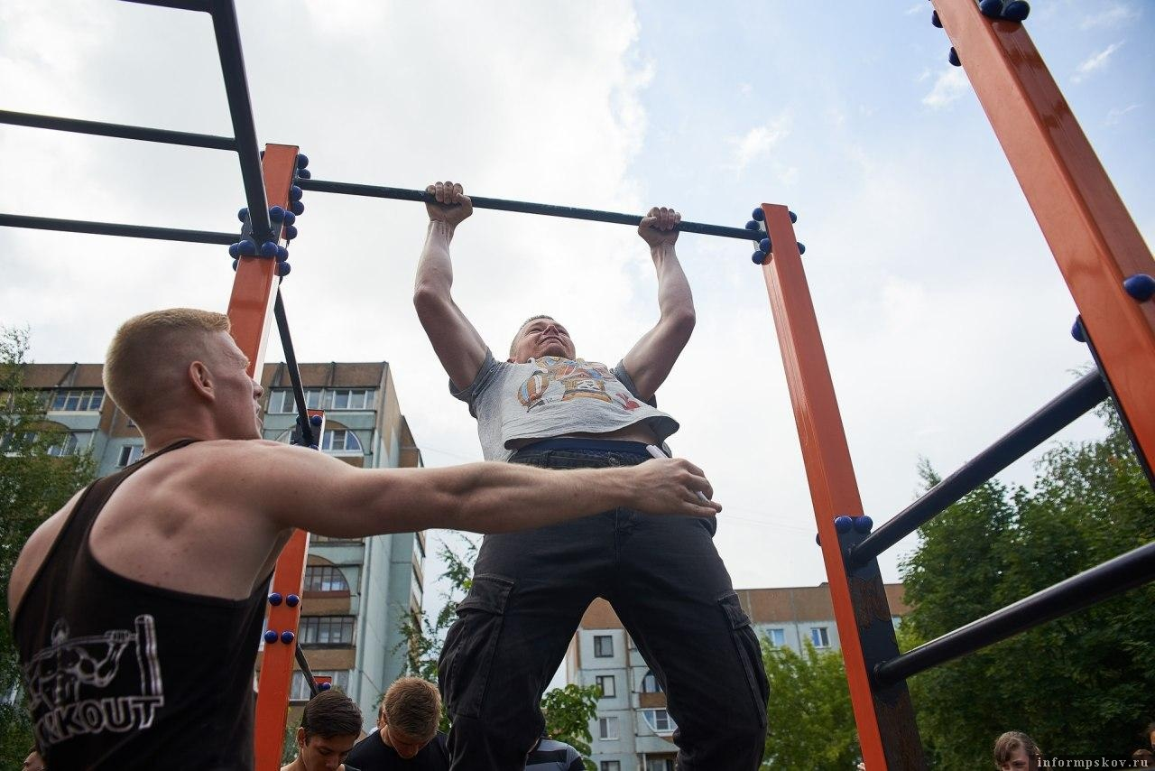 Пять площадок для подготовки к сдаче ГТО построят в Псковской области.Фото Дарья Хваткова.