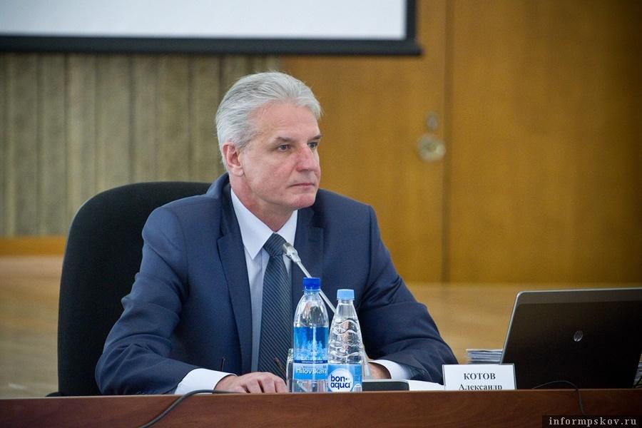 Председатель Псковского областного Собрания депутатов Александр Котов.