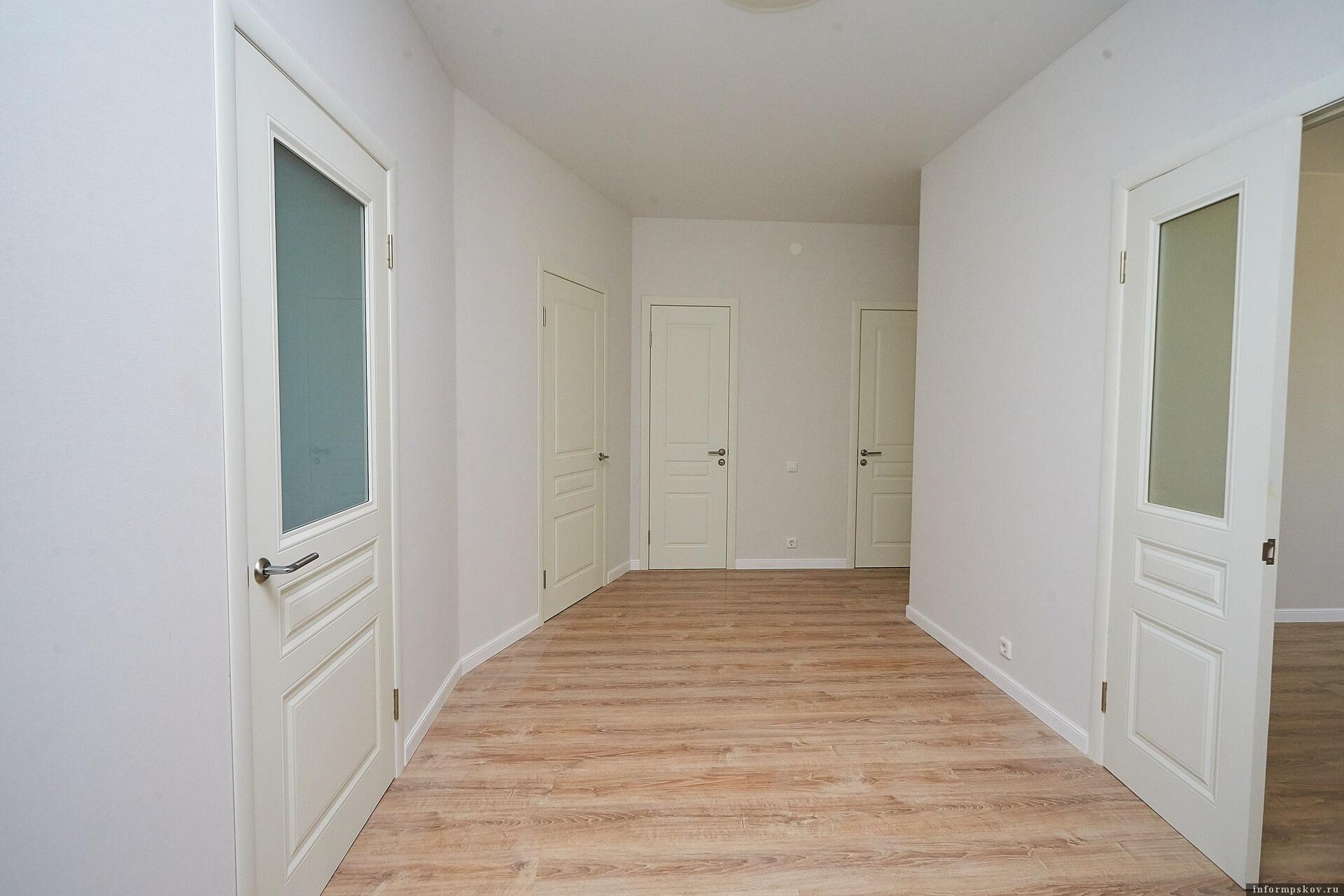 Квартира с отделкой.
