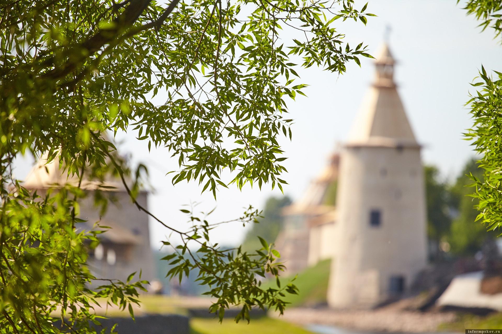 Жаркая погода, как на курорте, ждет псковичей 9 августа. Фото Дарьи Хватковой.