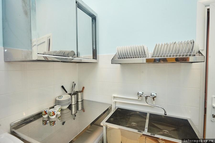 Мини-кухня есть в каждой из четырёх ясельных групп