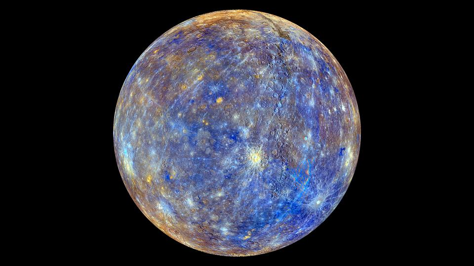 Меркурий. Фото pixabay.com.