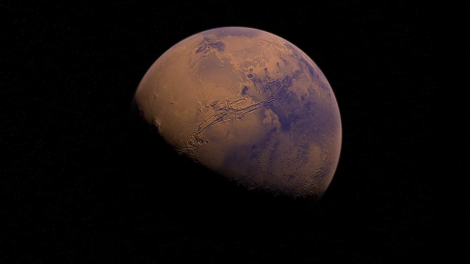 Марс. Фото pixabay.com