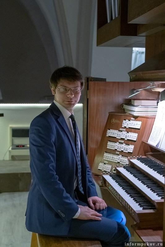"""Фото: """"Органные концерты в Печорах""""."""