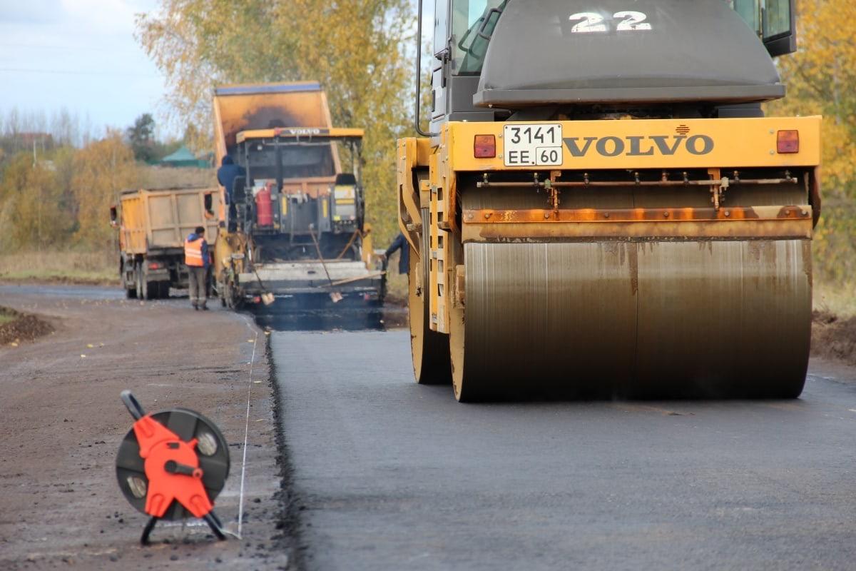 Фото: пресс-служба комитета по транспорту и дорожному хозяйству Псковской области.