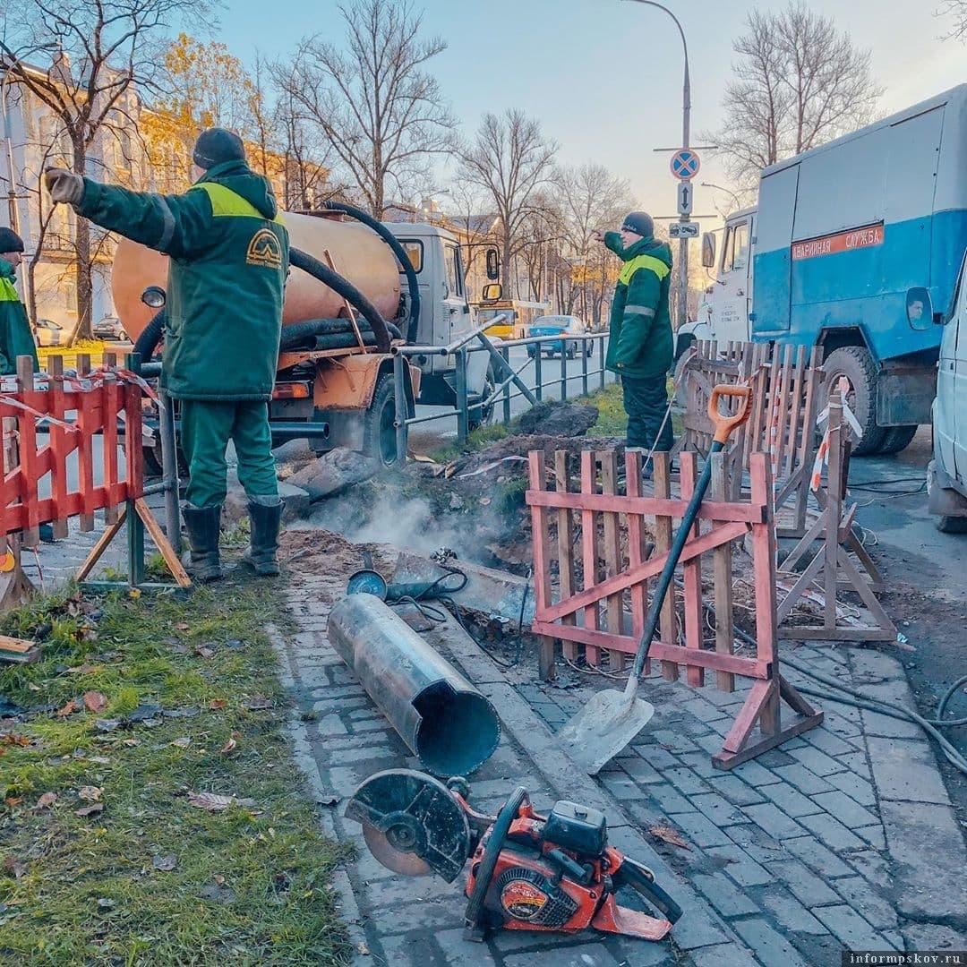 Фото: Псковские тепловые сети