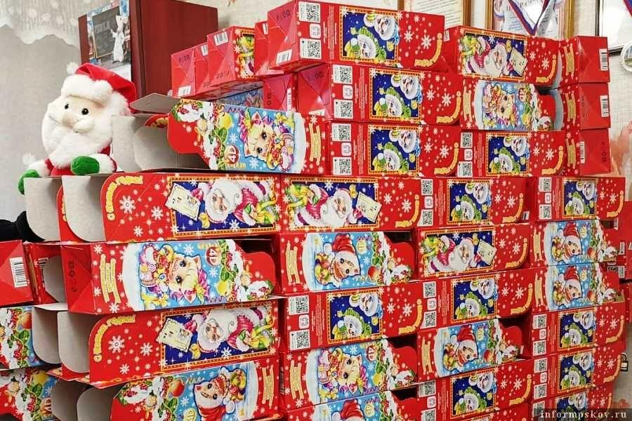 Коробки пока без конфет...Фото: Инстаграм