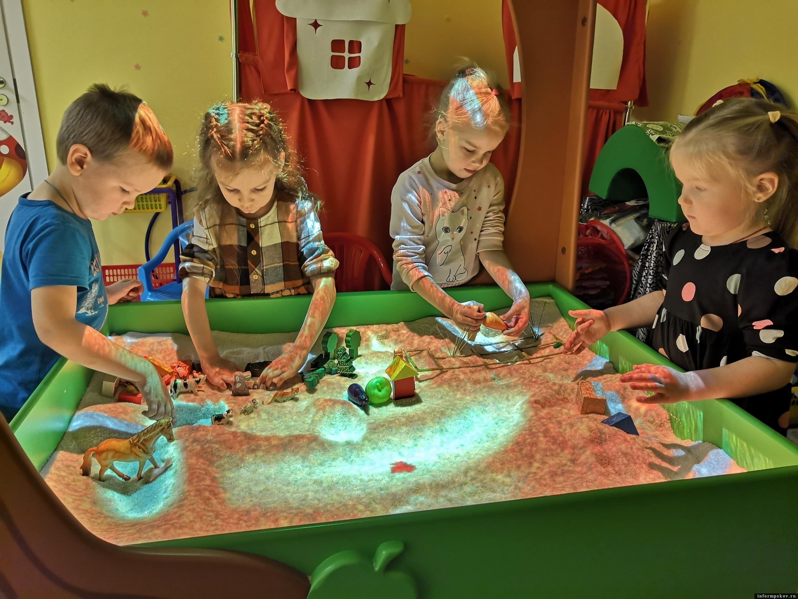 Предприниматель создала в Пскове детский центр с инновационным оборудованием. Фото детского клуба «Играй и развивайся».