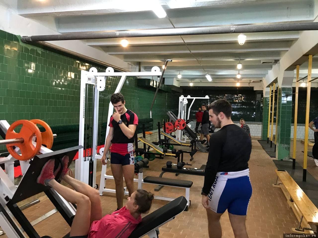 Новые тренажёры появились в псковской спортивной школе «Ника»