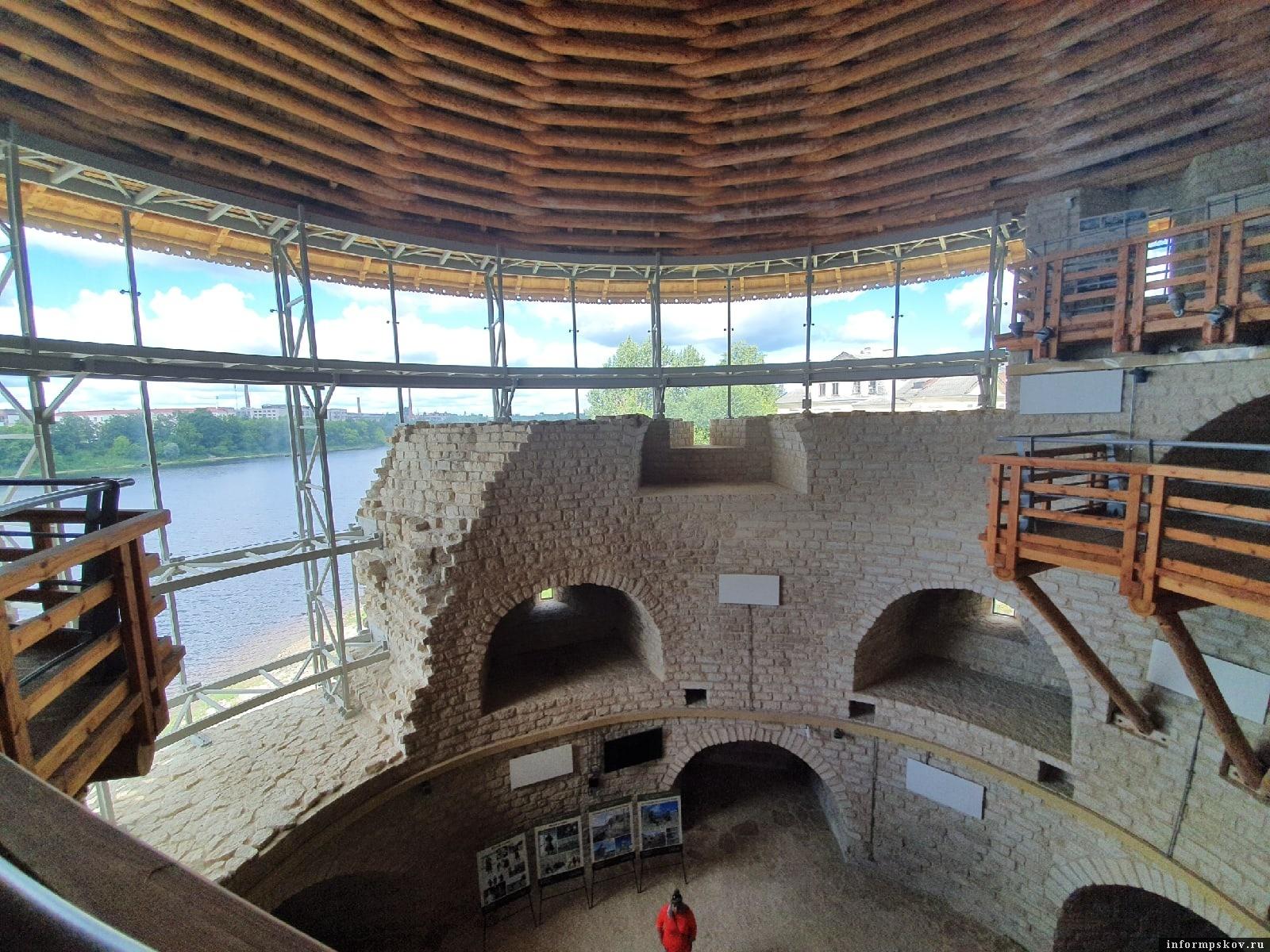 Варлаамовская башня внутри. Фото ПАИ