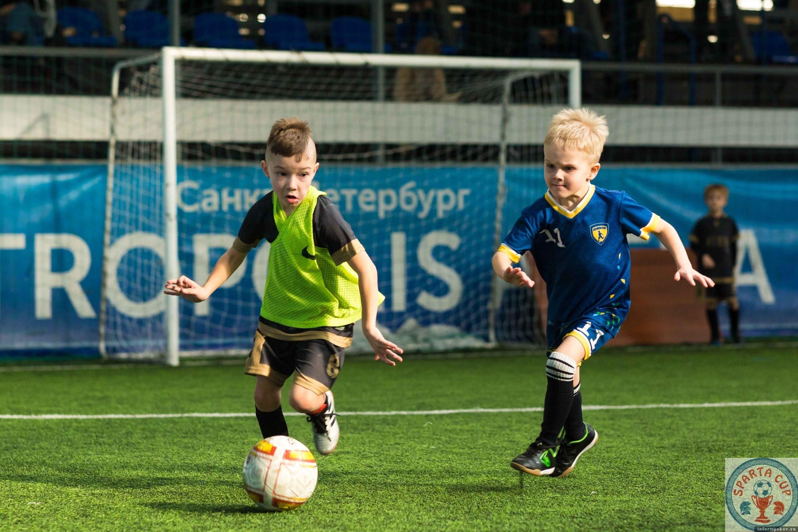 Победный гол: в Пскове работает одна из лучших футбольных школ сети «Юниор»