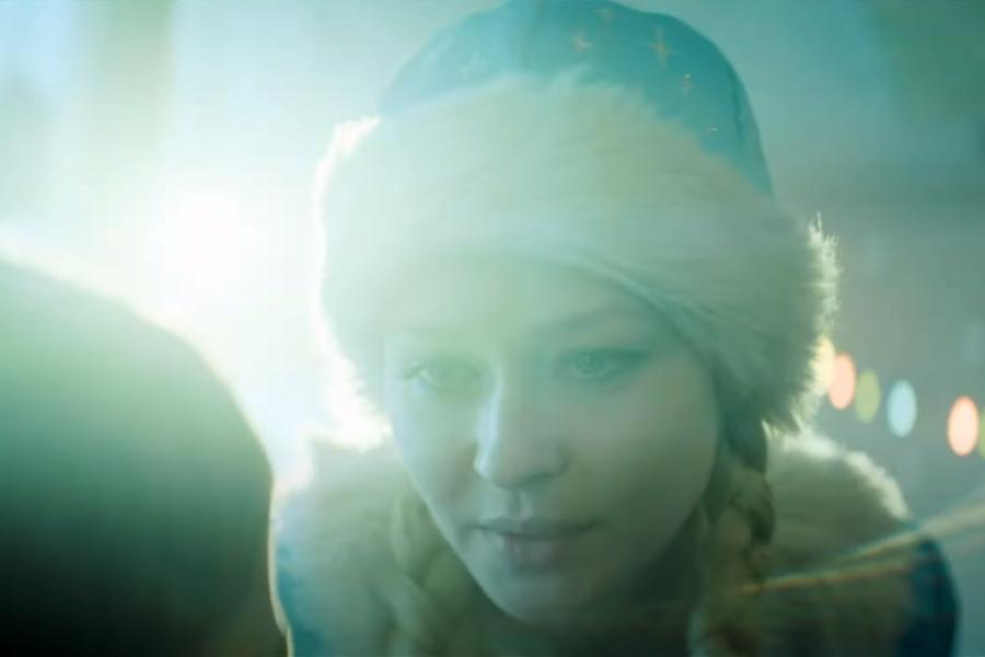 Юлия Пересильд. Кадр из трейлера к фильму. Фото скрин видео