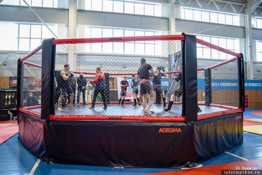 Теперь у борцов есть возможность чувствовать себя, как на соревнованиях. Фото luki.ru