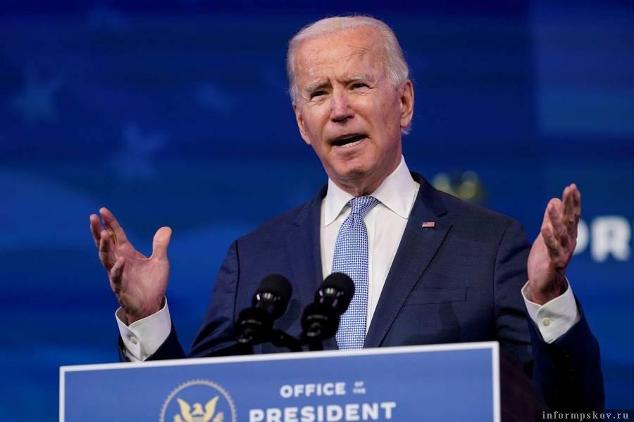 Новый президент Америки Джозеф Байден. Фото © AP Photo/Susan Walsh