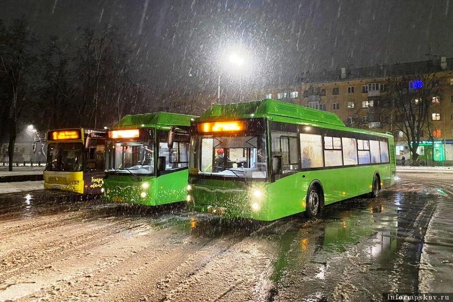 В Псковскую область пришли новые автобусы. Фото Instagram