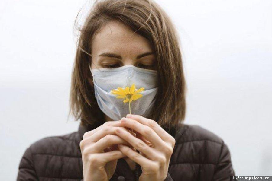 ачало весны псковичи встретят в масках. Ограничения продлены. Фото mos.ru