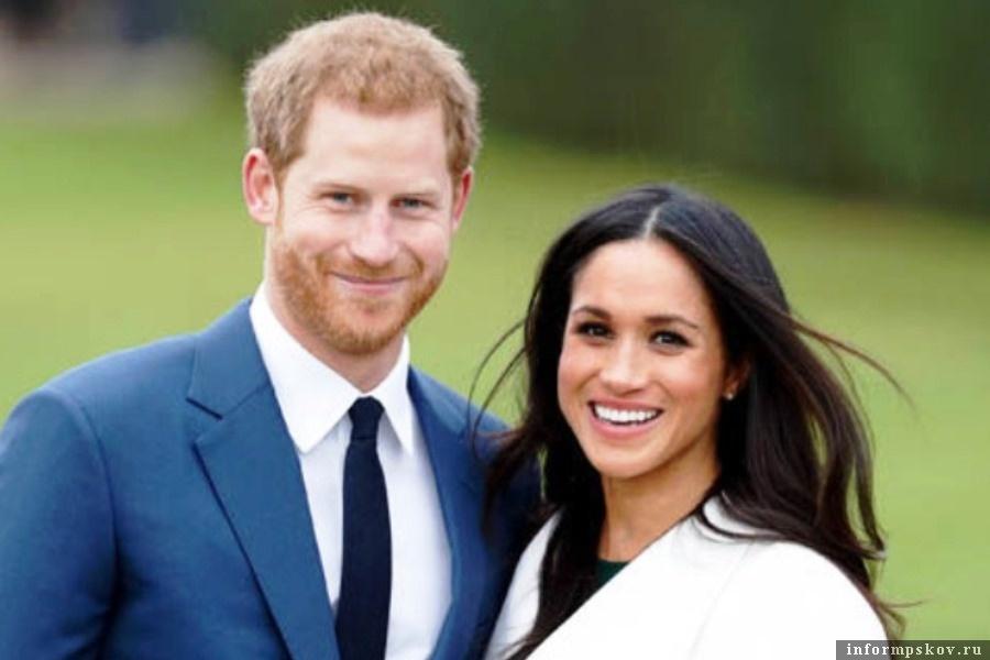 Принц Гарри и его супруга Меган Маркл. Фото spletnik.ru