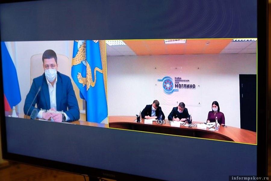 Губернатор одобрил размещение в Моглино нового завода