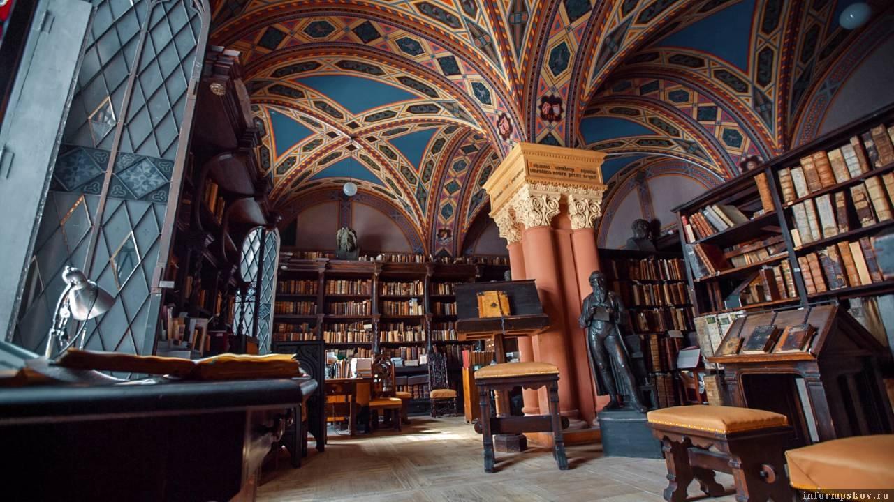 Российская национальная библиотека. Источник: lukilukii.livejournal.com
