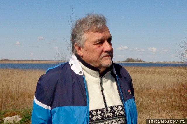 Владимир Потресов.Фото с сайта Центральной библиотечной системы Пскова.