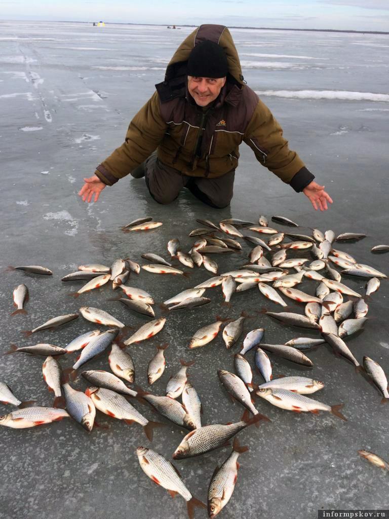Чудесная рыбалка на Чудо-озере. Фото автора.
