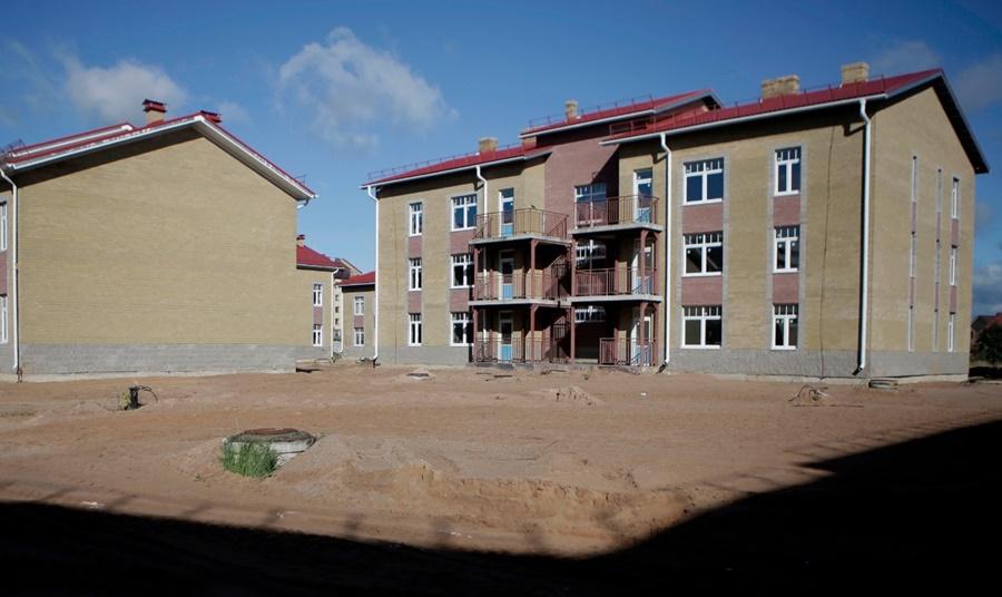 Социальный городок под Псковом сдадут раньше срока