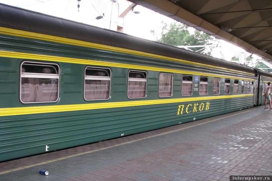 Дополнительный поезд пустят на майские в столицу и обратно.  Фото na-poezde.ru