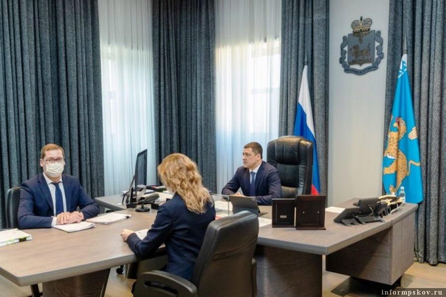 В администрации Экспертный совет обсудил новые инвестиционные проекты Псковской области. Фото областной администрации