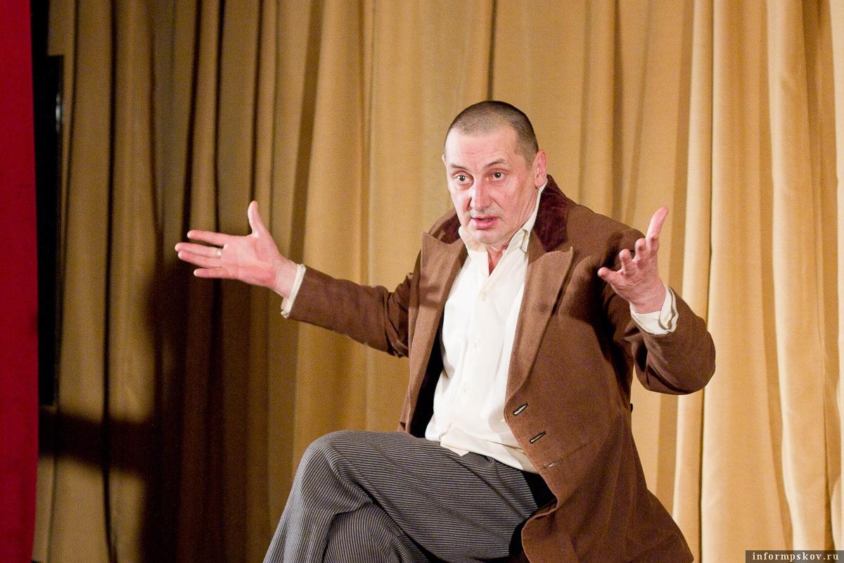 Спектакль с «большим пробегом» покажут в Пскове