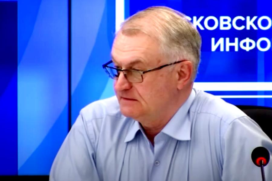 Олег Черней рассказал, что делали в Эстонии, чтобы уменьшить количество ландшафтных пожаров. Фото скрин видео