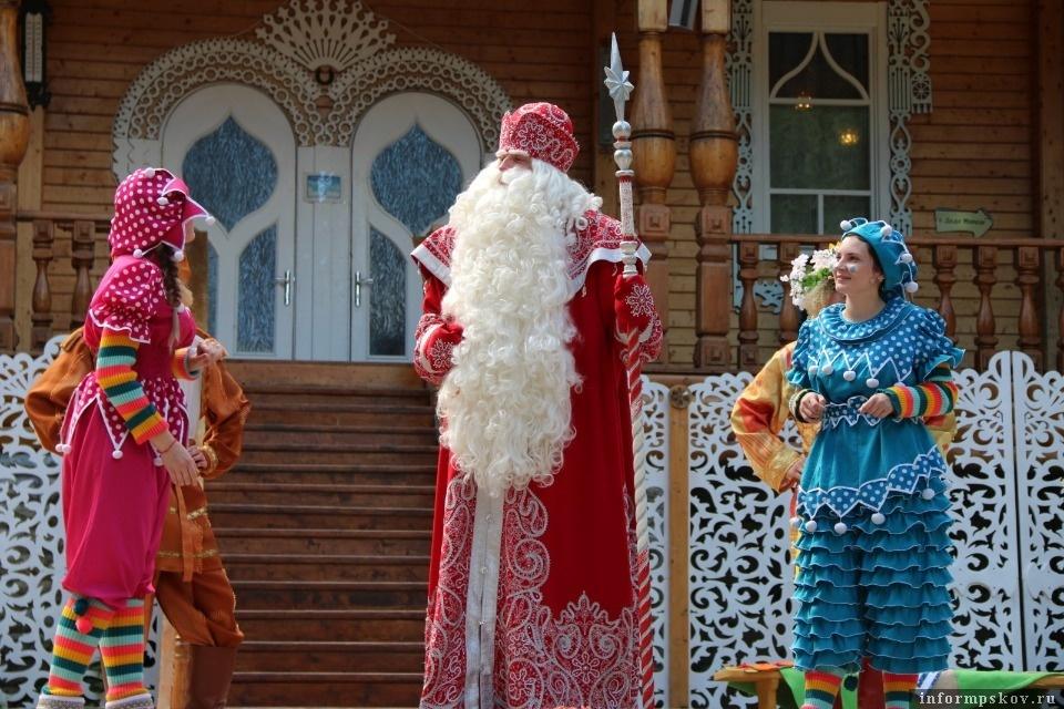 Фото с официального сайта Дома Деда Мороза в Великом Устюге