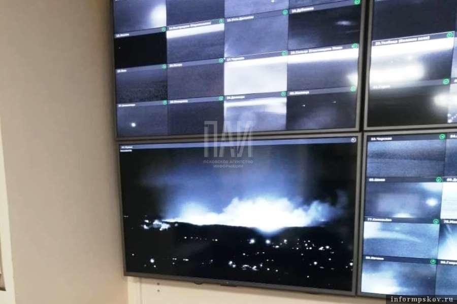 Система в автоматическом режиме мониторит лесные пожары, используя искусственный интеллект. Фото ПАИ