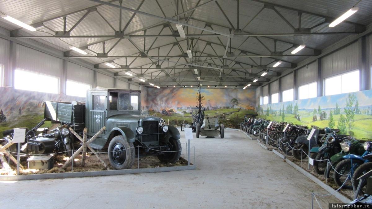 Коллекция техники в Островском музее. Фото предоставлено Туристическим информационным центром.