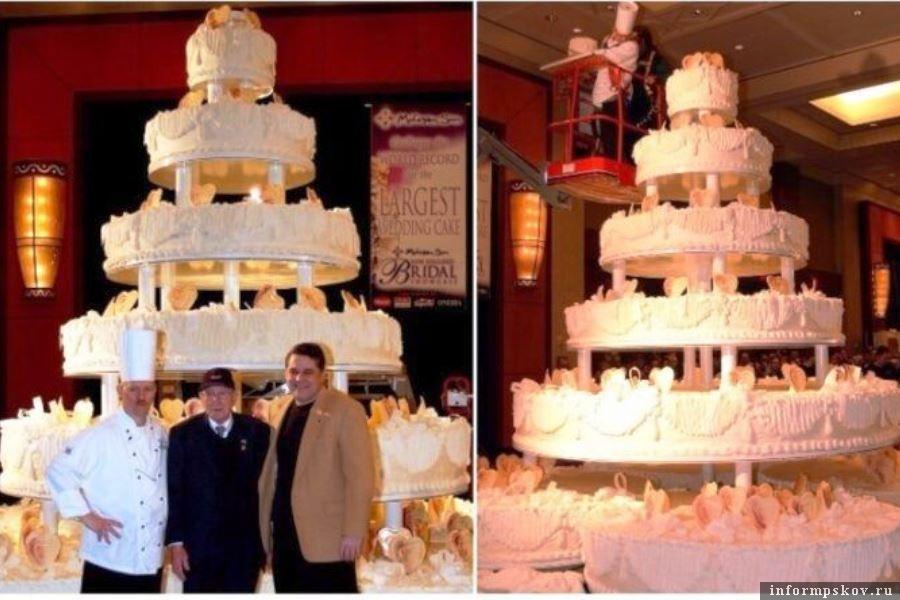 Тот самый свадебный торт из Коннетикута. Фото reestrrekordov.ru