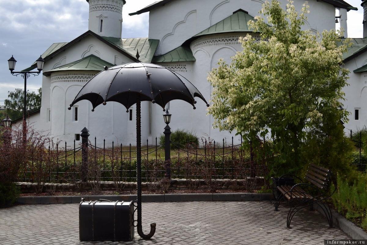Символ путешествий. Фото предоставлено ТИЦ Псковской области.