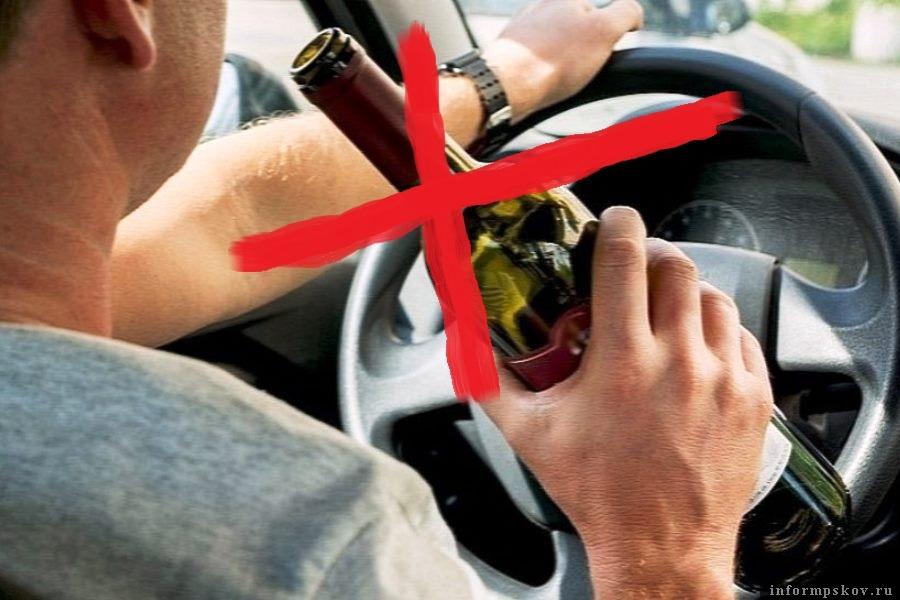 ГИБДД Псковской области напоминает: выпил - за руль не садись! Фото salsknews.ru