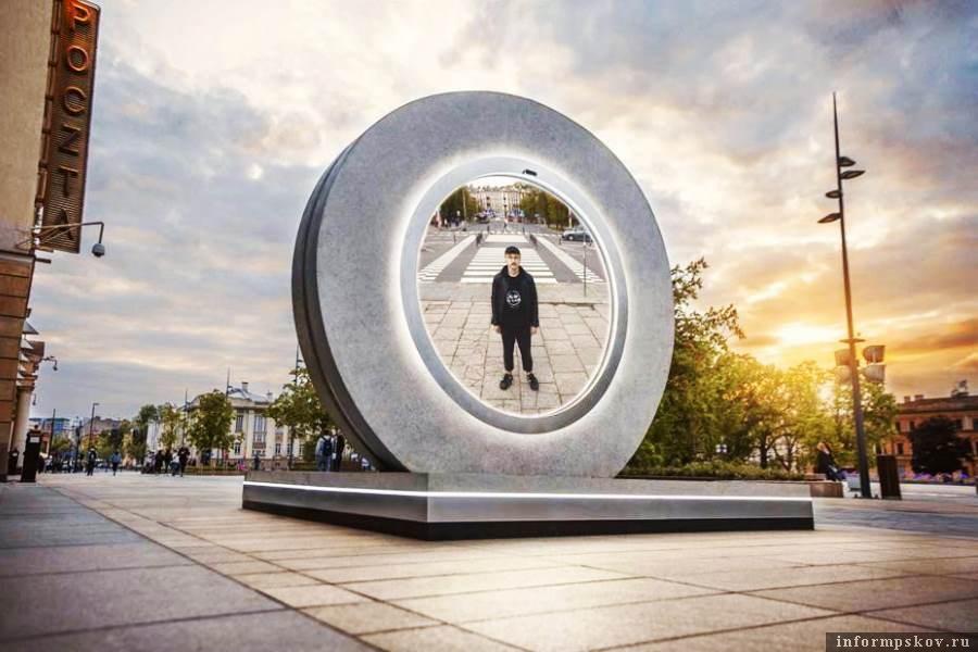 Подойдя к порталу в Вильнюсе можно заглянуть в город Люблин. Фото welovelithuania
