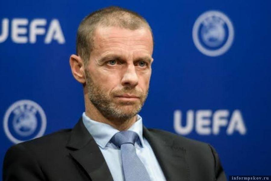 Александер Чеферин заявил, что УЕФА поможет обанкротившимся футбольным клубам. Фото твиттер Bayern & Germany