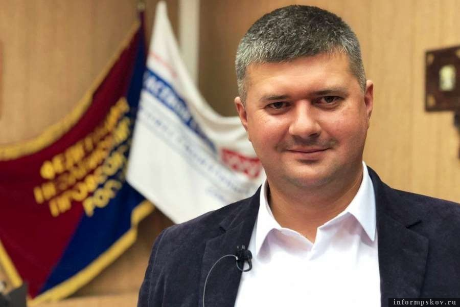Председатель Псковского облсовпрофа Игорь Иванов. Фото Алёна Комарова