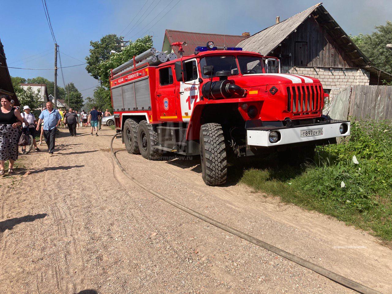 Фото с места происшествия: Газета «Невельский вестник»