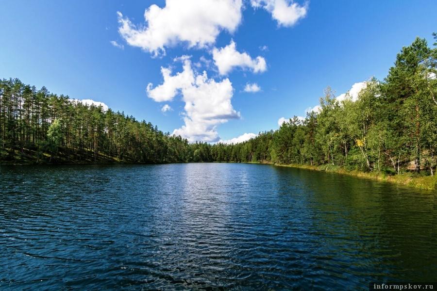 Зеркальное озеро станет чистым. Фото газеты «Гдовская заря»
