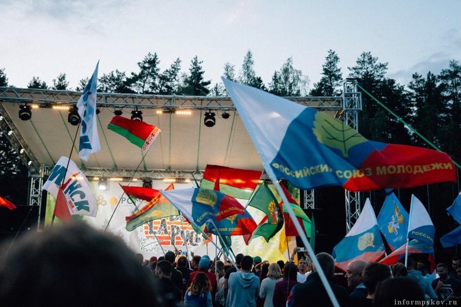 Более 100 представителей Республики Беларусь прибыли на форум в Псков. Фото mypomnim.tilda.ws